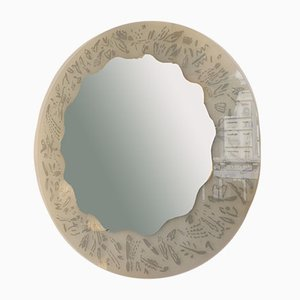 Mirror by Ugo La Pietra for Glasmäster, 1980s