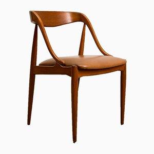 Chaises d'Appoint en Teck par Johannes Andersen pour Uldum Møbelfabrik, Danemark, 1960s, Set de 4