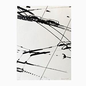 Lithographie Edition Limitée par KRH Sonderborg, 1969