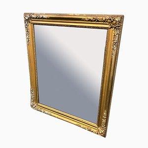 Antiker Spiegel mit vergoldetem Rahmen, 1920er