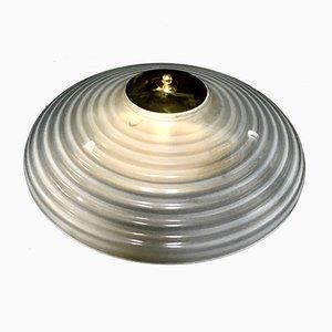 Mid-Century Deckenlampe von Fidenza Vetraria