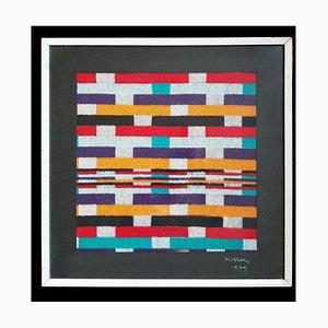 Geometrischer Wandteppich von Ottavio Missoni, 1979