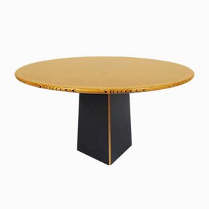 Round Model Artona Dining Table by Tobia & Afra Scarpa for Maxalto, 1970s
