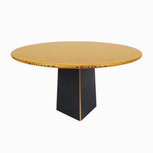 Tavolo da pranzo Artona rotondo di Tobia & Afra Scarpa per Maxalto, anni '70