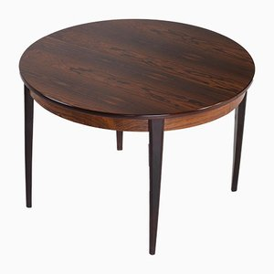 Danish Modern Rosewood Extendable Dining Table, 1960s