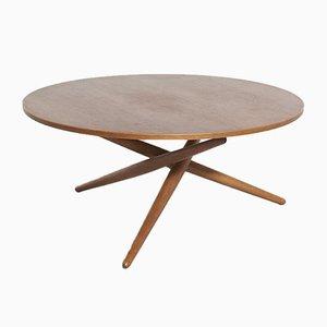 Swiss Adjustable Coffee Table by Jürg Bally for Wohnhilfe, 1950s