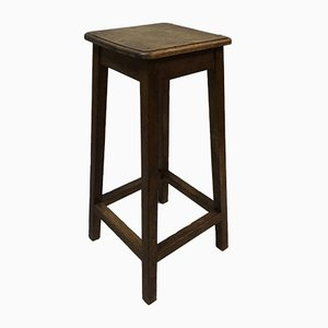 Antique Artist Oak Stool