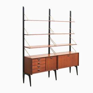 Mid-Century Dutch Shelf by Louis van Teeffelen for WéBé, 1960s