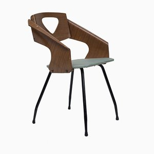 Esszimmerstühle von Carlo Ratti, 1950er, 6er Set