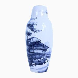 Italienische Mid-Century Vase aus Keramik