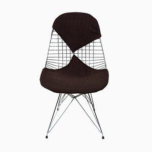 Modell DKR / 2 Esszimmerstühle von Charles & Ray Eames für Herman Miller, 1950er, 4er Set