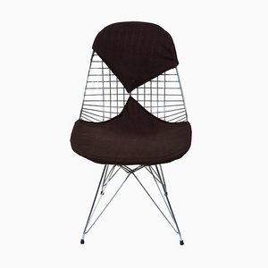 Sedie da pranzo modello DKR / 2 di Charles & Ray Eames per Herman Miller, anni '50, set di 4