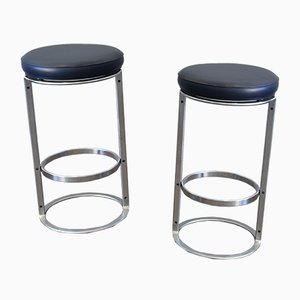 Mid-Century Model HM 6917 Bar Stools by Horst Brüning for Kill International, Set of 2