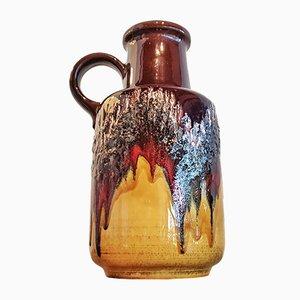 Große Keramik Nr. 408/0 Vase von Scheurich, 1970er