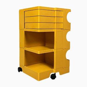 Yellow Boby Trolley by Joe Colombo for Bieffeplast, 1960s