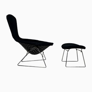 Bird Sessel & Fußhocker von Harry Bertoia für Knoll Inc. / Knoll International, 1960er