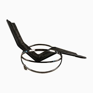 Et Star Rocking Chair by Roger Lecal, the Netherlands, 1970s