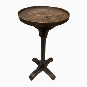Antiker Säulentisch mit Mittelfuß