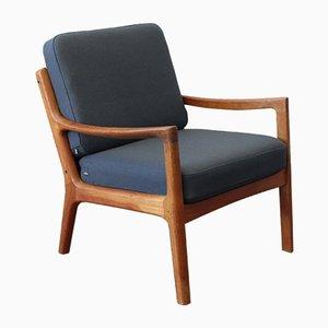 Mid-Century Modell 166 Senator Stuhl von Ole Wanscher für Cado