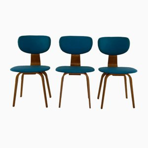 Bentwood Dining Chairs by Cees Braakman for Pastoe, 1950s, Set of 3