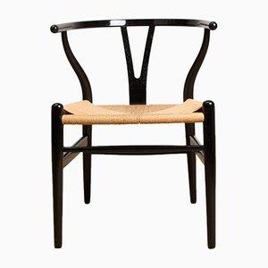 Dänische Modell CH24 Wishbone Stühle von Hans J. Wegner für Carl Hansen & Søn, 1960er, 6er Set