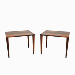 Danish Rosewood Coffee Tables, 1960s, Set of 2