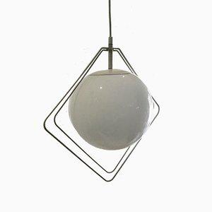 Lampada da soffitto minimalista, Olanda, anni '70