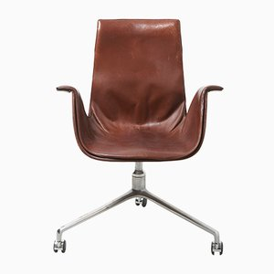 Mid-Century Tulip Model FK 6727 Desk Chair by Preben Fabricius & Jørgen Kastholm for Kill International, 1960s