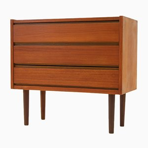 Danish Teak Sideboard with 3 Drawers, 1960s
