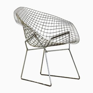 Vintage Diamond Chair by Harry Bertoia for Knoll Inc. / Knoll International, 1970s