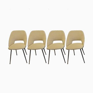 Tonneau Chairs by Pierre Guariche, 1950s, Set of 4