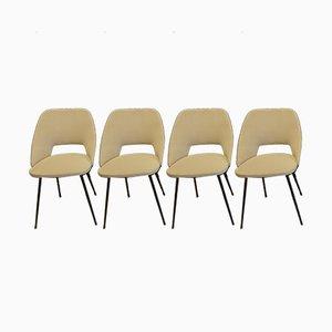 Tonneau Stühle von Pierre Guariche, 1950er, 4er Set