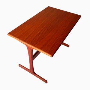Table Basse Moderniste en Teck, 1970s