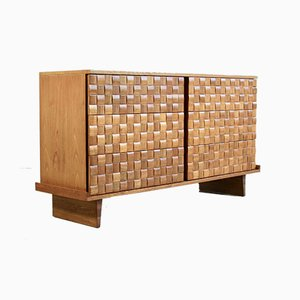 Mid-Century Chest of Drawers by Paul László for Brown Saltman