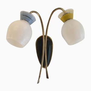 Kleine Italienische Mid-Century Wandlampe, 1950er