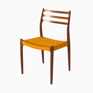 Modell 78 Esszimmerstühle von Niels Otto Møller für JL Møllers, 1978, 6er Set