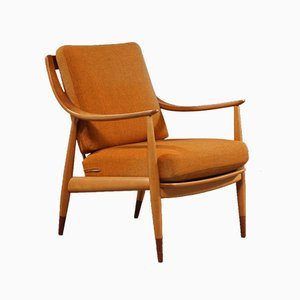 Mid-Century Lounge Chair by Peter Hvidt & Orla Mølgaard-Nielsen for France & Søn / France & Daverkosen