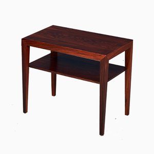 Mid-Century Danish Rosewood Side Table by Severin Hansen for Haslev Møbelsnedkeri, 1960s
