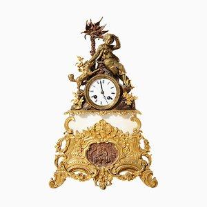 Horloge de Cheminée Antique, France