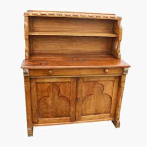 Antique Pine Country Arts and Craft Chiffonier, 1880s