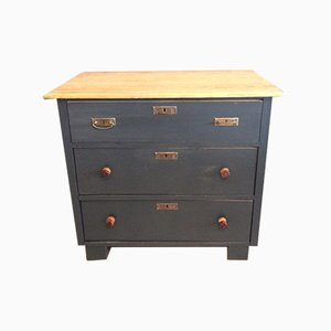 Antique Black Chest of Drawers
