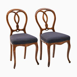 Rococo Dining Chairs, 1900s, Set of 2