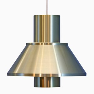 Danish Life Pendant Lamp in Brass by Johannes Hammerborg for Fog & Mørup, 1960s