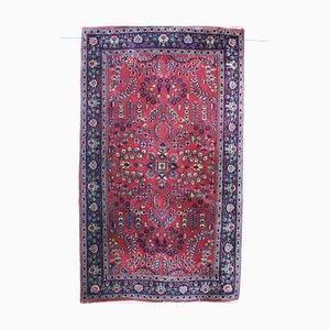 Indian Wool Sarugh Carpet, 1970s