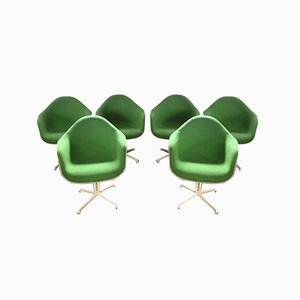 Mid-Century Dax Armchairs by Charles & Ray Eames for Herman Miller, Set of 6