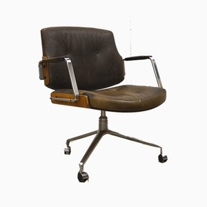 Chaise de Bureau FK84 par Preben Fabricius & Jørgen Kastholm pour Kill International, 1960s