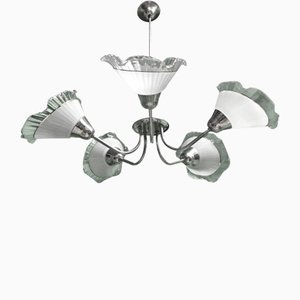 Chandelier by Apolinary Gałecki for SZM, 1960s