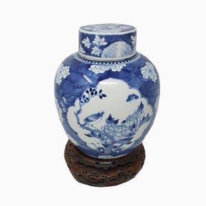Pot à Gingembre Kangxi Antique de la Dynastie Qing
