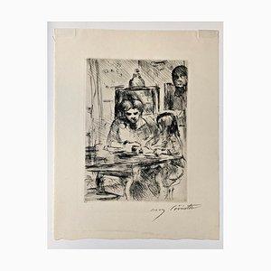 Aguafuerte Impresionist Schoolwork de Lovis Corinth, 1918