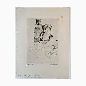 Aguafuerte impresionista de Lovis Corinth, 1912
